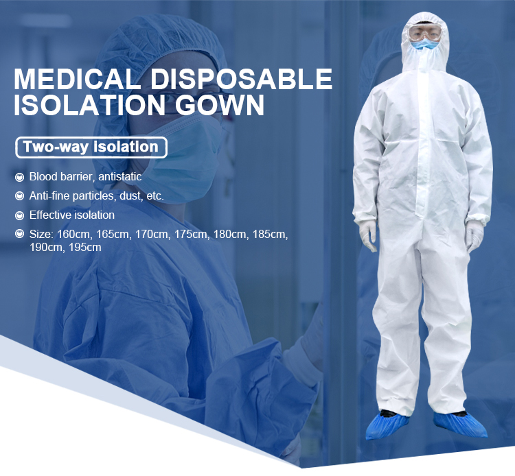 Medical disposable isolation gow