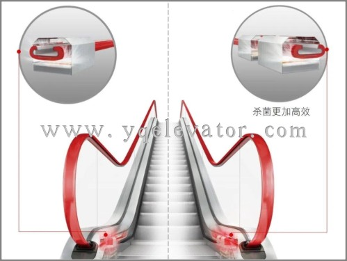 escalator handrail belt