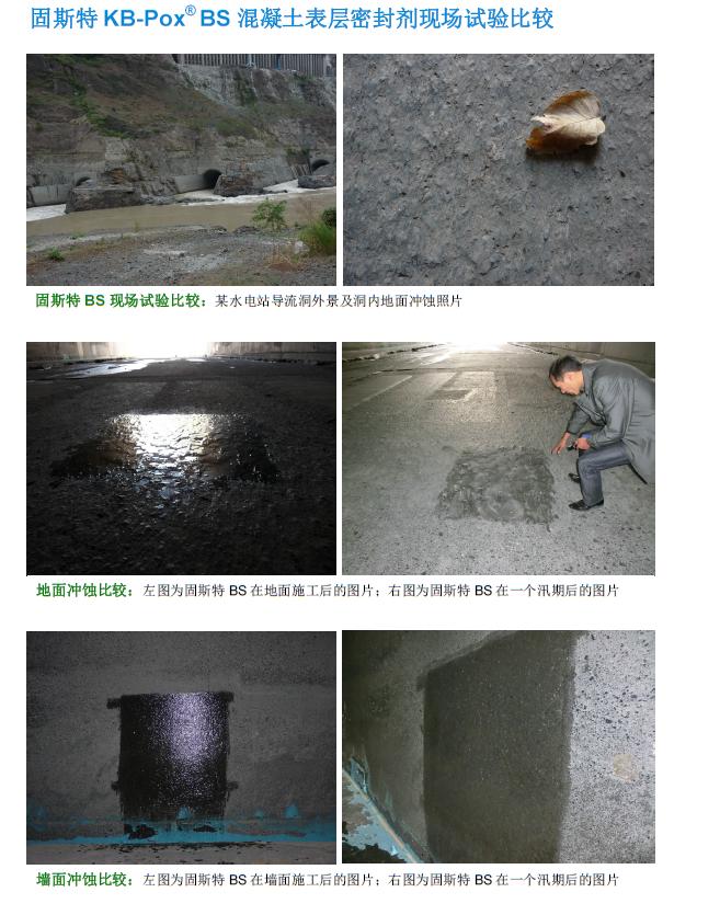 固斯特混凝土表層密封劑