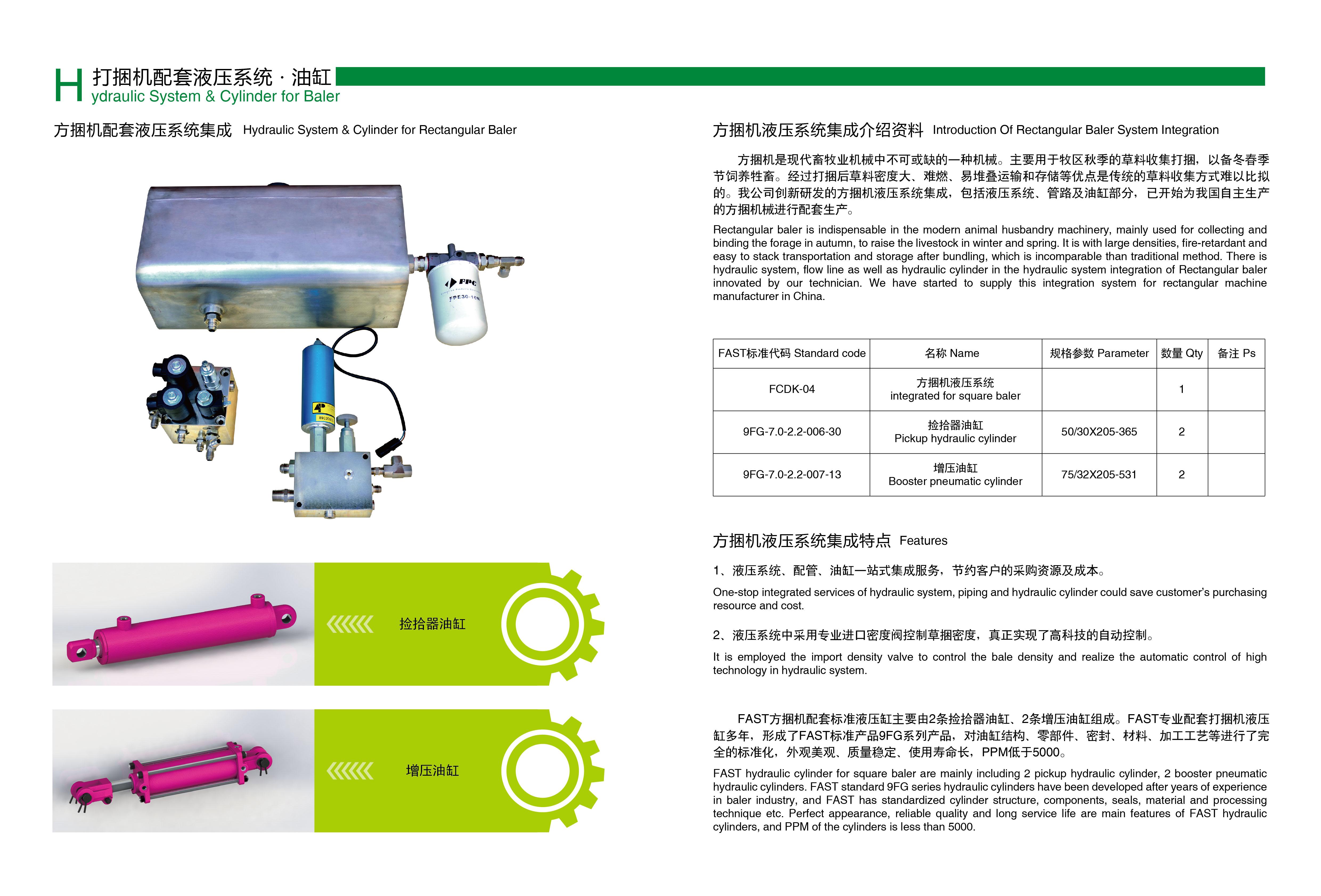 煙臺液壓系統