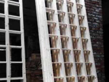 直线筛木质网架