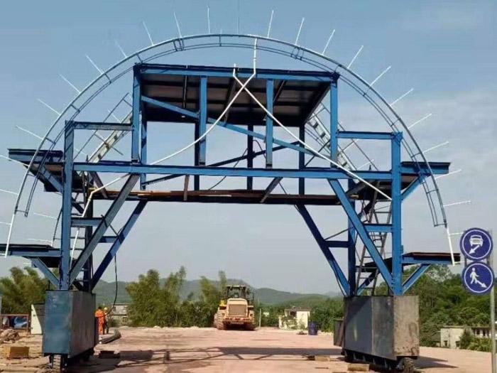 隧道台车轮