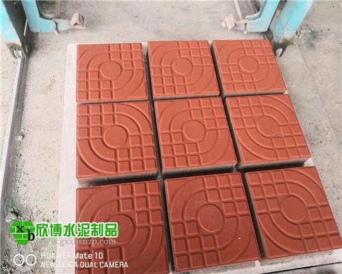 广西人行道砖