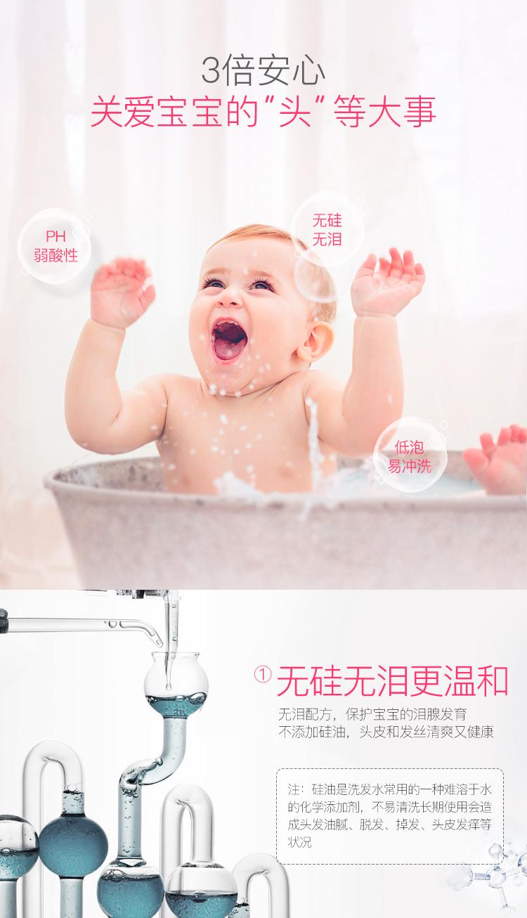 兒童洗護沐浴露