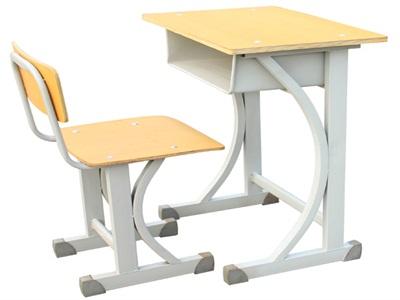 鹤壁双人固定课桌椅