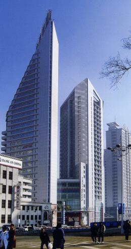 黑龙江省联通大厦地下1层-38层钢管柱