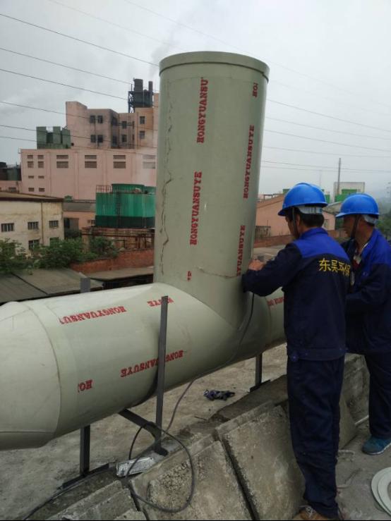 銅陵清華科技有限公司有機廢氣和粉塵項目