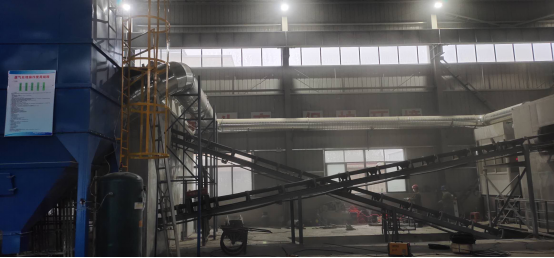 安慶浩澤環保建材有限公司處理200萬噸建筑固廢環保利用項目破碎車間除塵項目