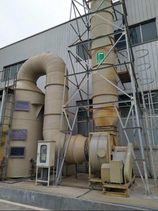 蕪湖長信科技股份有限公司廢氣治理項目現場