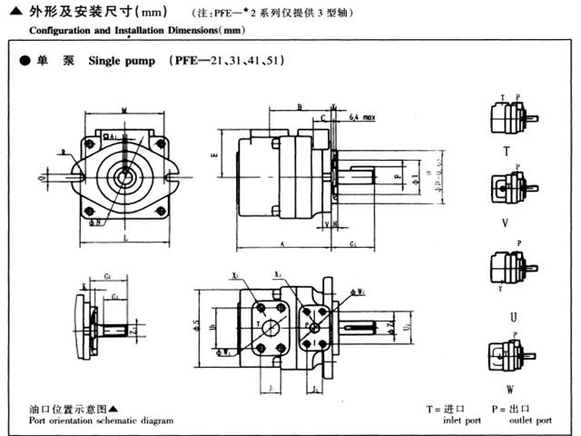 PFE系列柱銷式葉片泵