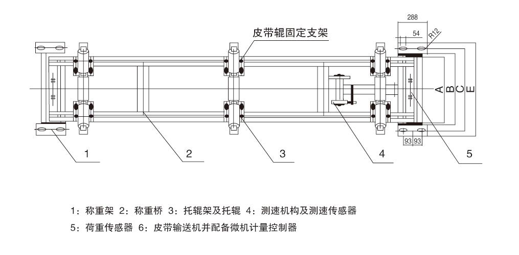 ICS系列电子皮带秤