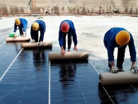 屋顶补漏施工