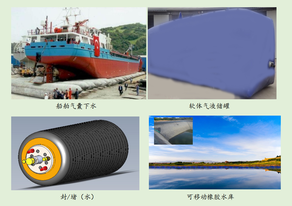特种大型橡胶气囊及可移动橡胶水库