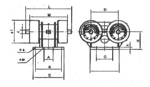 CJZ座式激振器