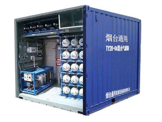 混合气潜水气源箱