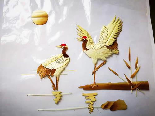 西安麦秆画定制