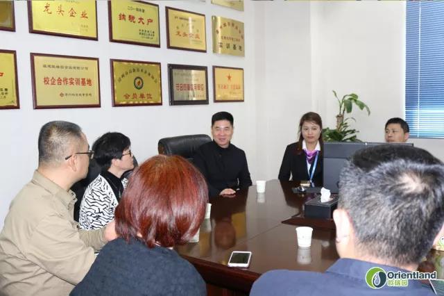 民进福建经济界会员联谊会莅临欧瑞园公司指导工作