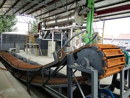 侧井式熔炼炉