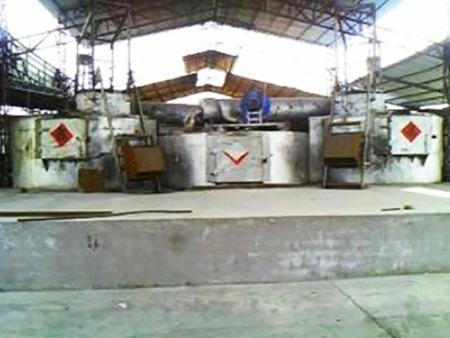快速集中熔铝炉