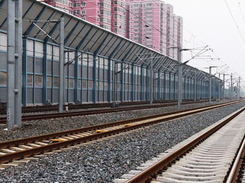 鐵路折臂式聲屏障