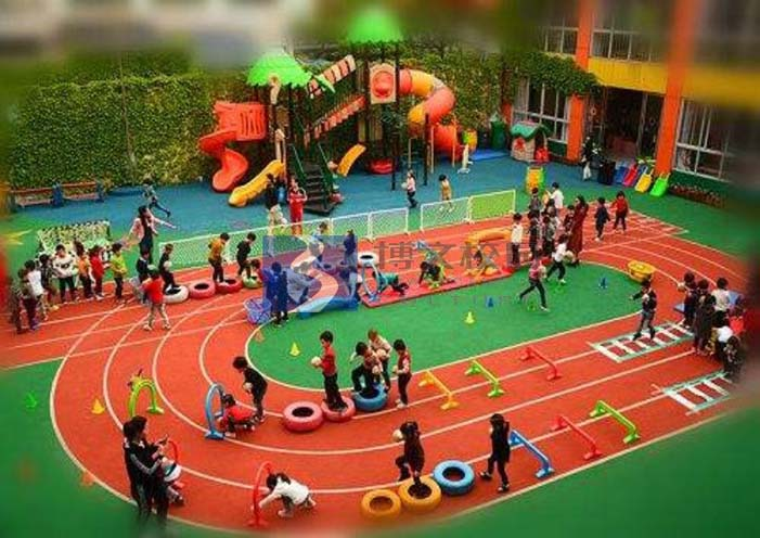 校园塑胶地板
