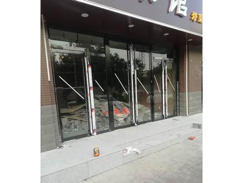 西安玻璃門