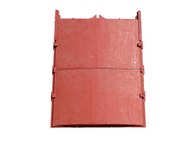 組裝式拱形鑄鐵閘門
