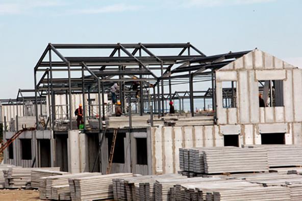 新型钢结构房屋