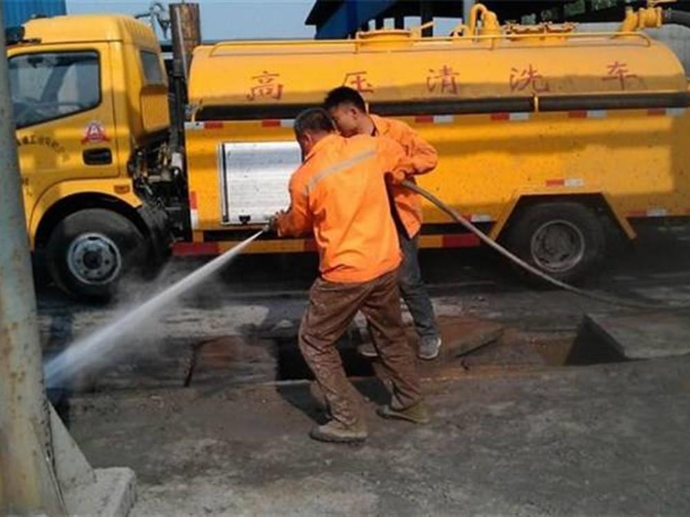 郑州高压清洗管道多少钱