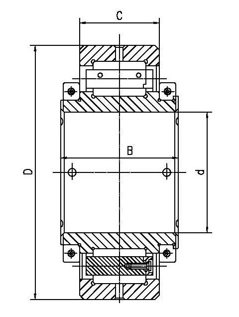 剖分式圆柱滚子轴承