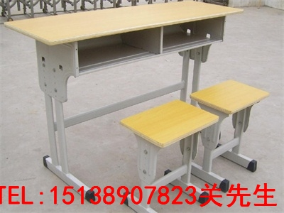 平顶山固定课桌凳
