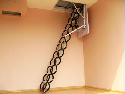 阁楼伸缩楼梯供应商