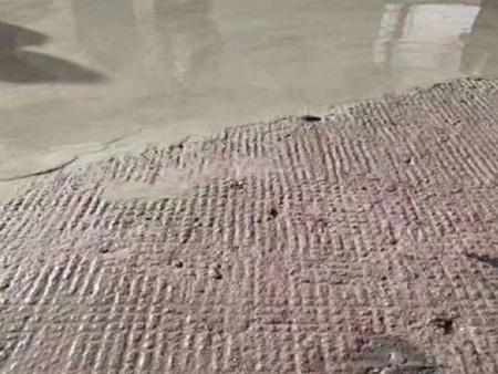 水泥地面起砂修补
