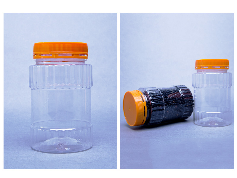 透明食品罐470ML-490ML