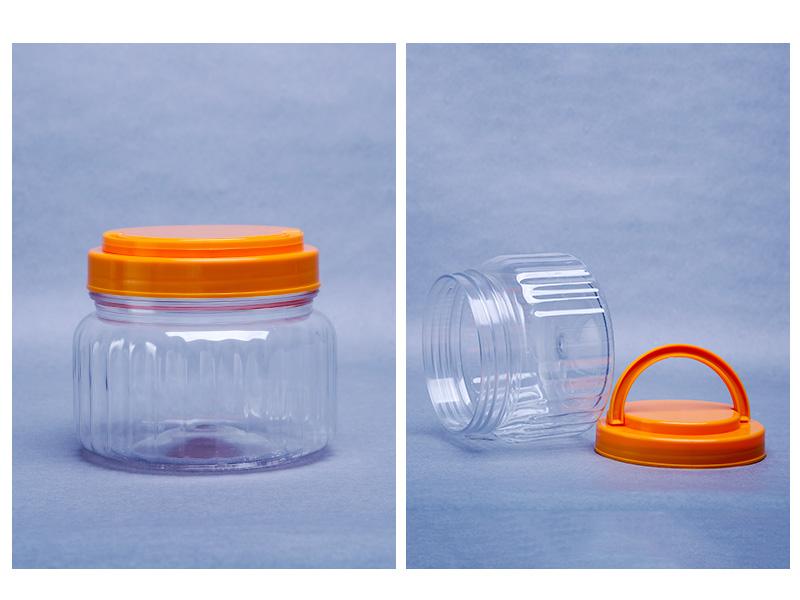 透明塑料罐600ML-670ML