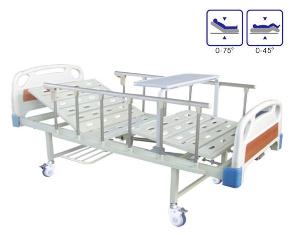BCA-133 ABS床头双摇病床