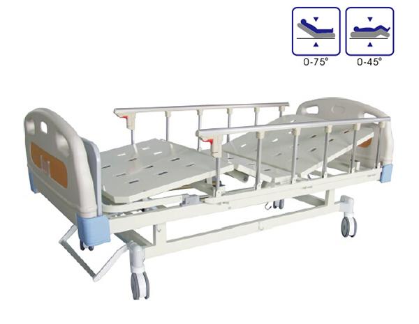 BCA-133-E ABS床头双摇病床