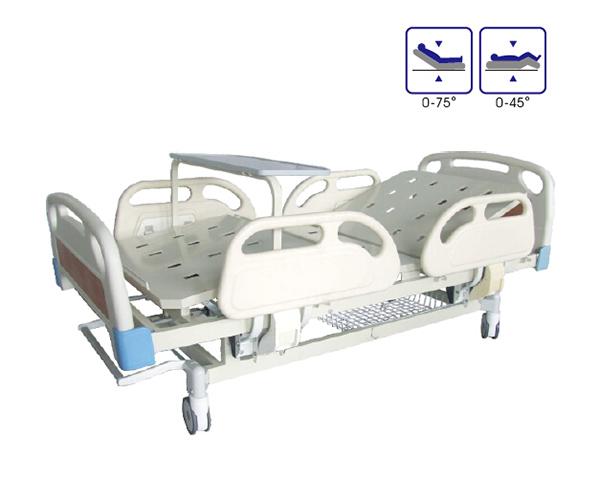 BCA-133-G ABS床头双摇病床