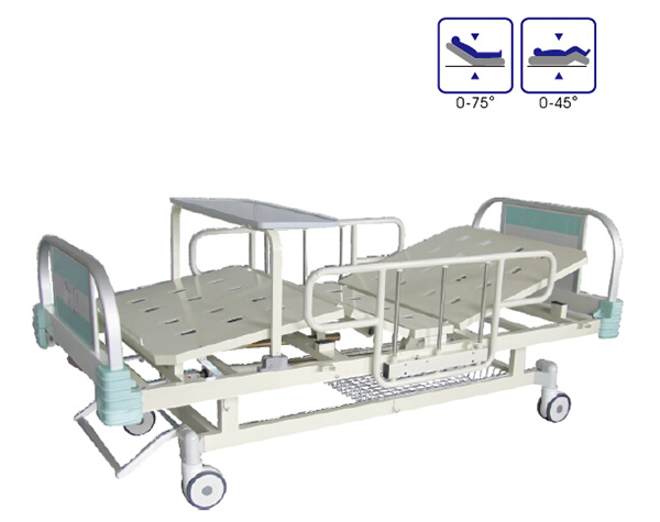 BCA-133-H 铝合金床头双摇病床