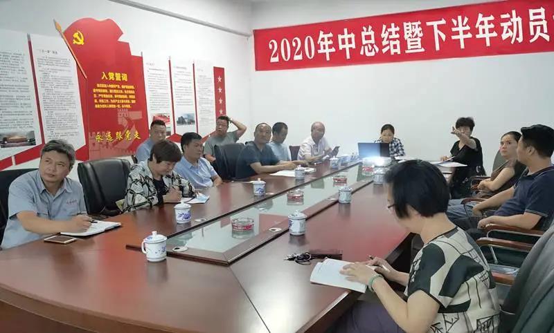 淮海消防集團2020年中總結大會