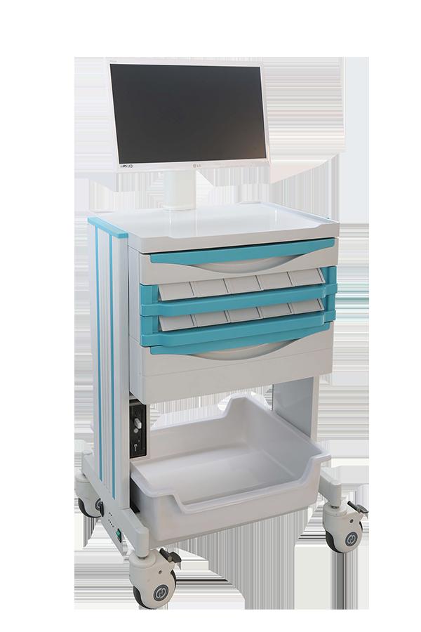 HS-M02 移动护士工作车