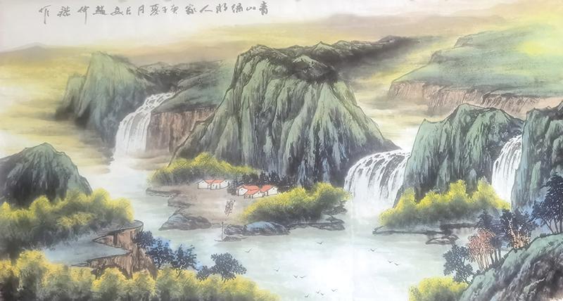 赵仲谋国画作品