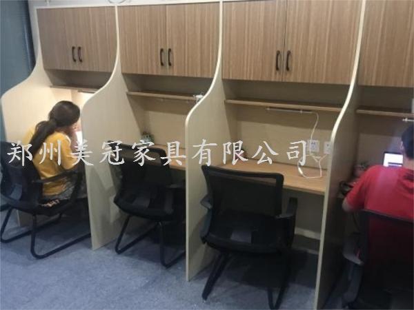 渭南考研自習室屏風桌