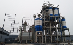 干混式干混砂浆生产线