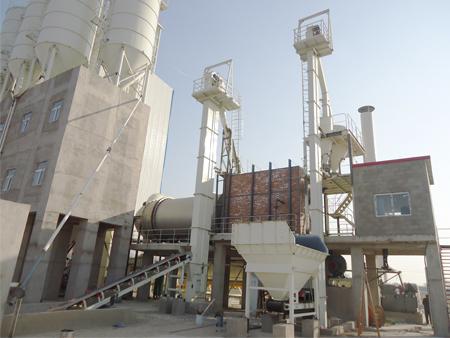 大型干混砂漿設備