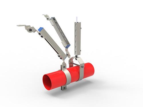 單管雙向抗震支架