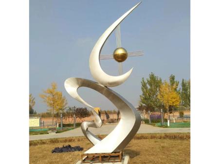 辽宁白钢雕塑