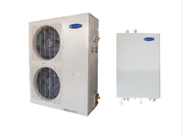 分体式定频户用空气源热泵机组