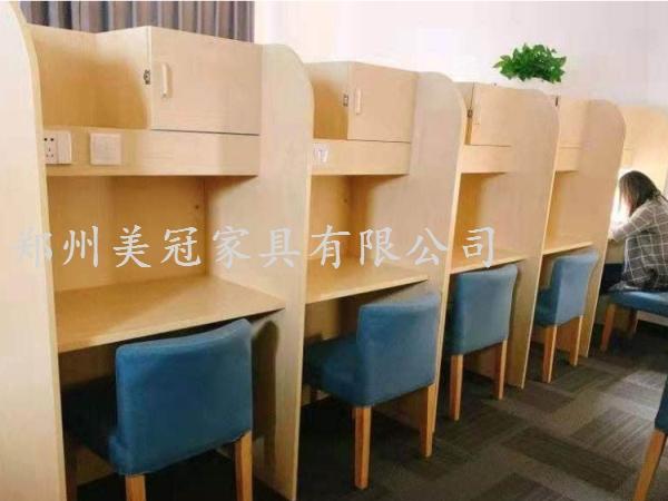 陕西考研自习室隔断桌
