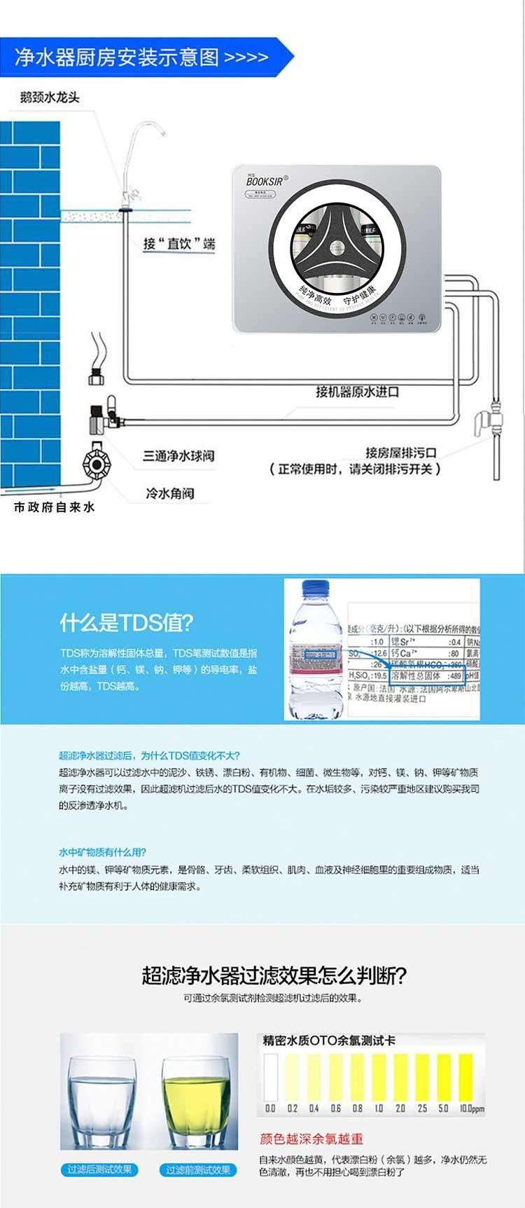 書生BOOKSIR五級超濾淨水器